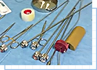 顔の脂肪吸引ポイント③バリエーション豊富な専用器具を使い分け